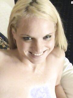 Домашнее видео с красоткой Амандой