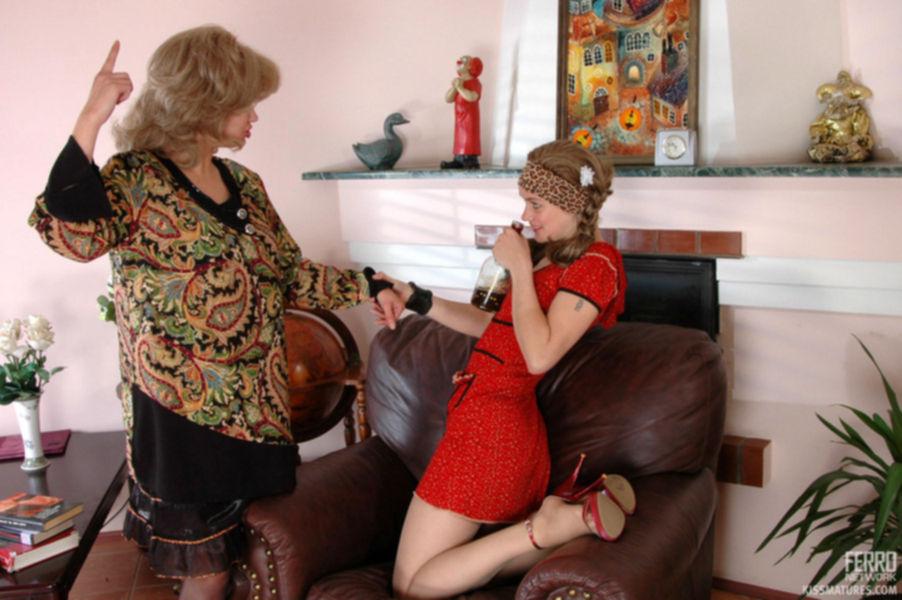 Похотливая тётушка