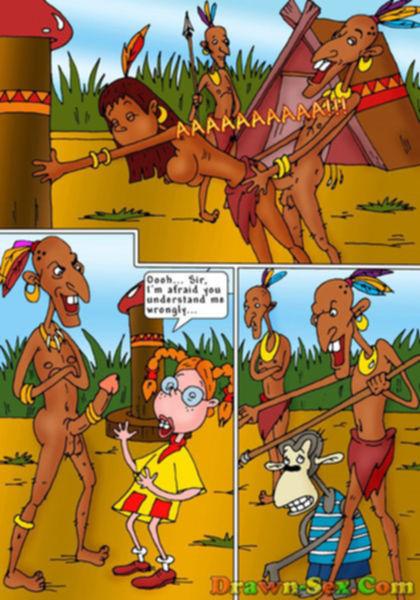 Секс в джунглях