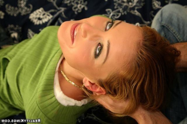 Жадная блондинка